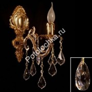 бра Brizzi Испания V 2118/1 OR Tear drop crystal :: www.potolochka.ru